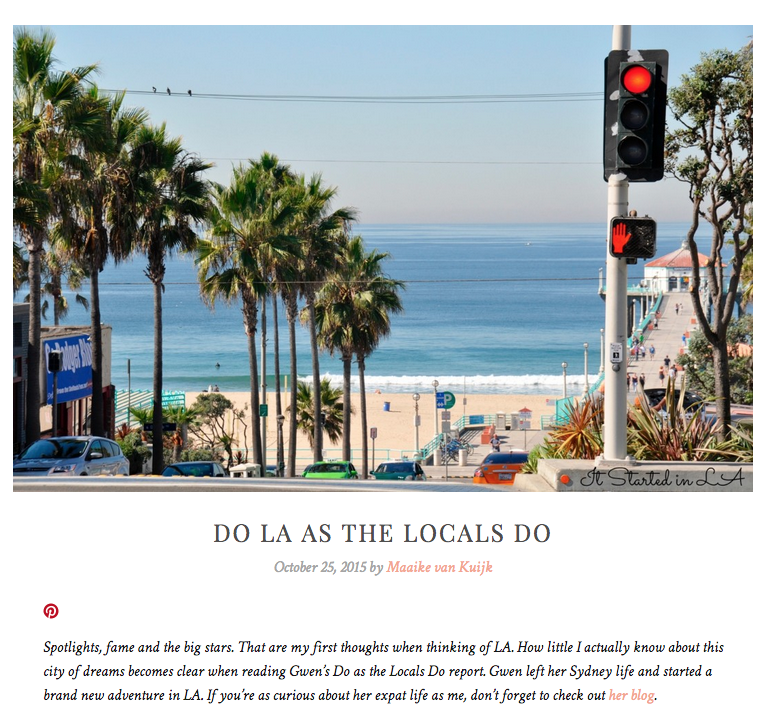 Do LA as the locals do