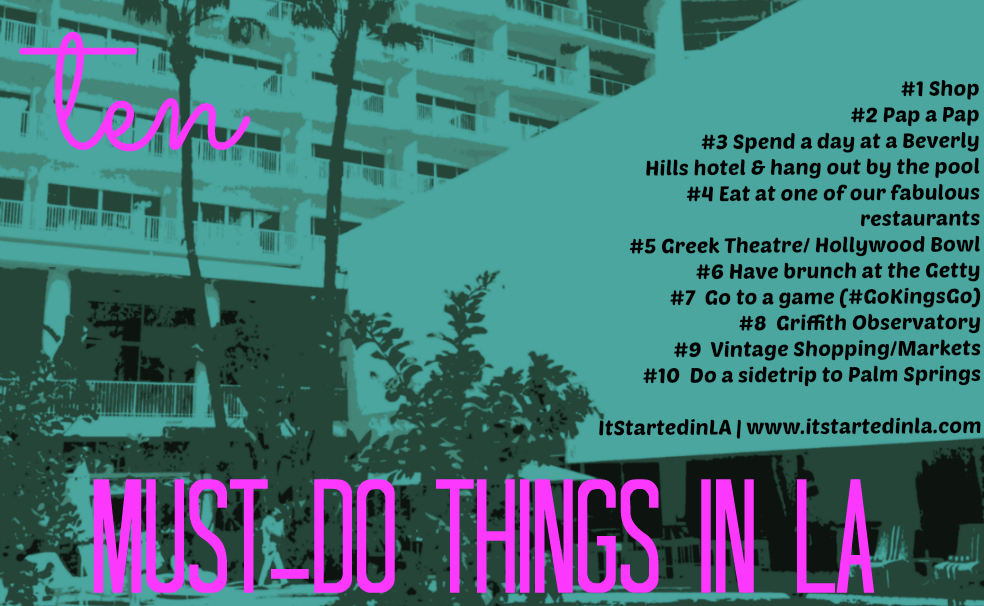 Must-do things in LA