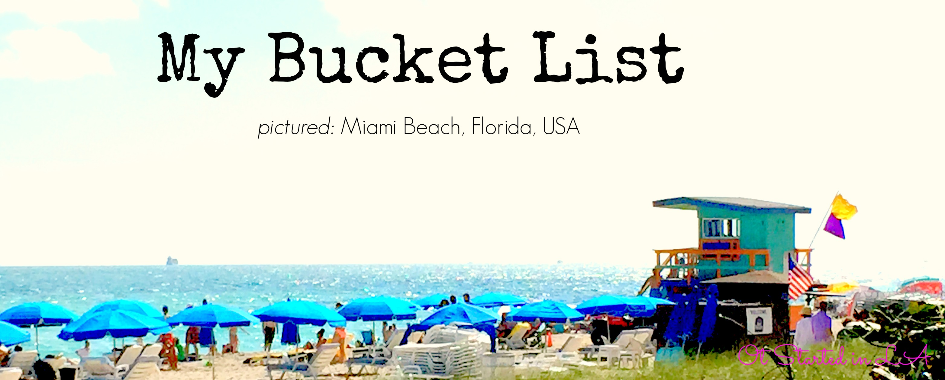 Bucket List 2