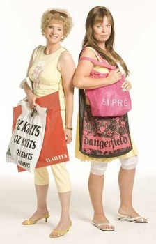 Bona fide bogans: Kath & Kim (Image taken from The Daily Life)