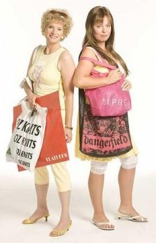 Bona fide bogans: Kath & Kim (Image taken from The Daily Life)
