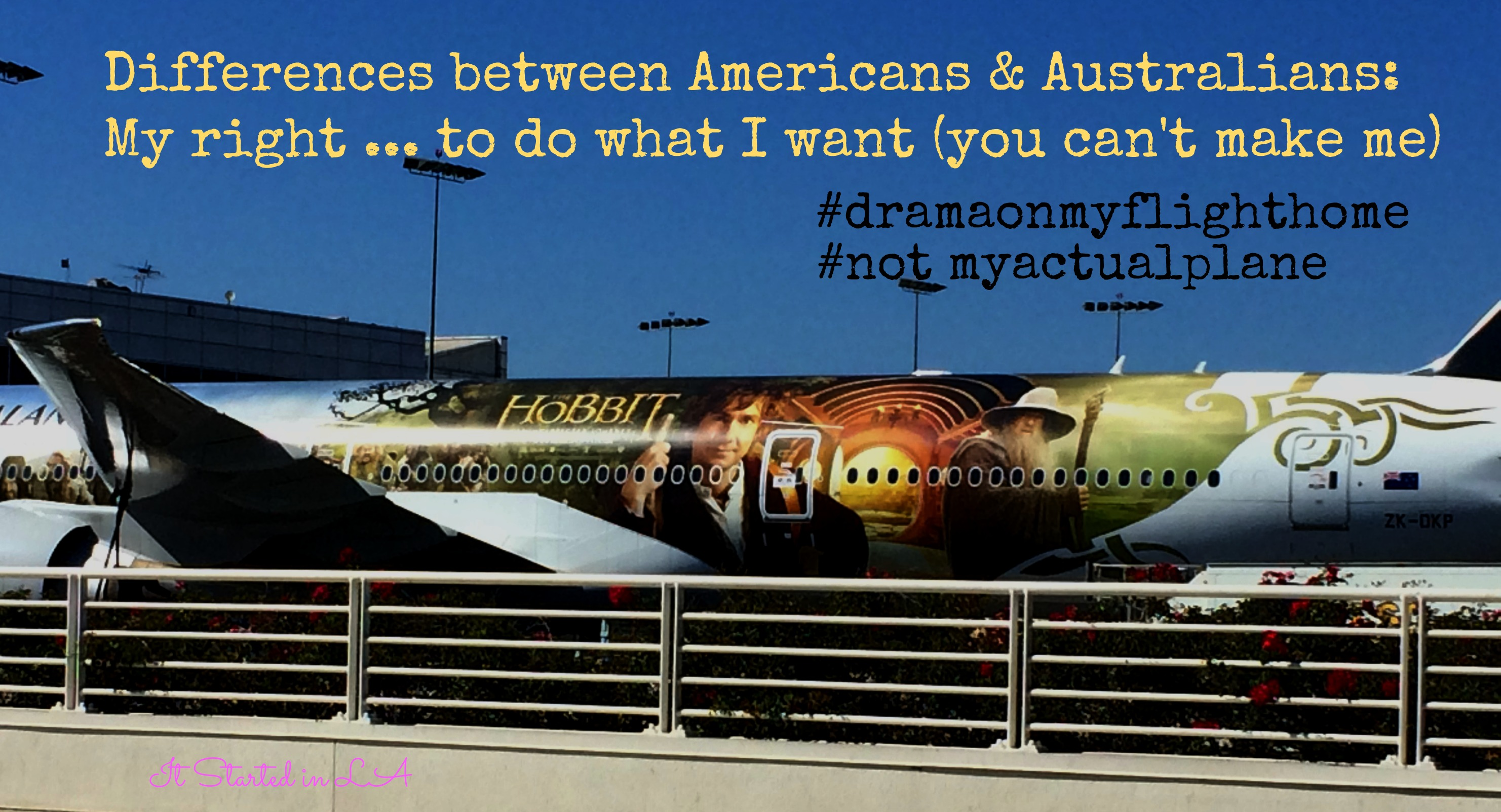 Difference between Americans & Australians: my rights (you can't make me) | It Started in LA