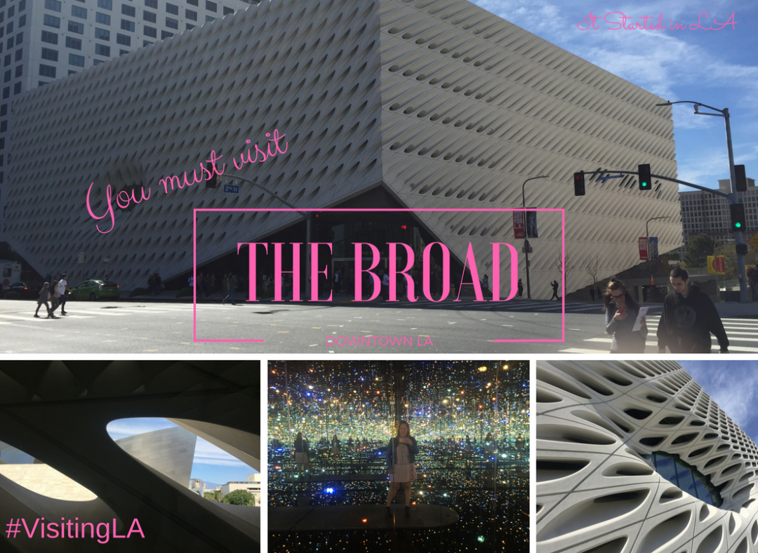 When you're in LA you simply must visit The Broad; get the low-down here | It Started in LA | itstartedinla.com
